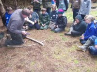 Bushcraft skills are also available.