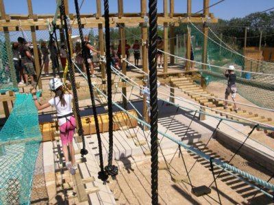 Multi-adventure circuit and calçotada Delta Ebro