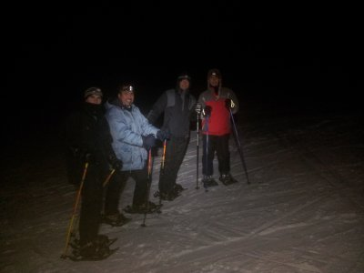 Snowshoeing Tour at Night in Barcelona