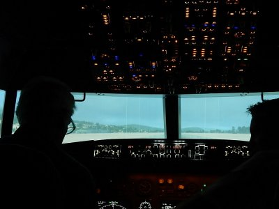 Flight Simulator, Igualada Airfield, 90-Minutes