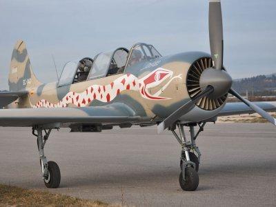 Pilot a fighter aircraft, Barcelona
