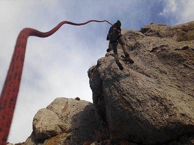 Via Ferrata interm. level, Cueva Horá, Loja