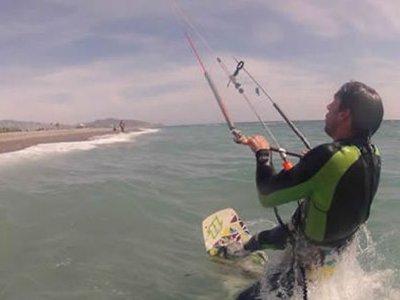 Kitesurfing course in Almeria, intermediate level