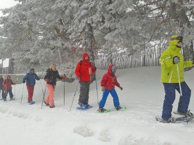 Snowshoeing tour in Navacerrada, Adults Fee