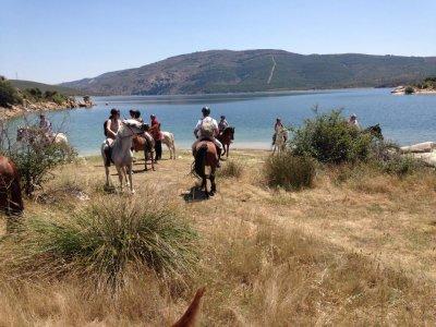 Horseback ride + lesson and tour around Buitrago