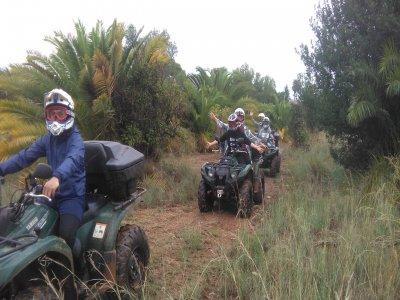 Quad Route from Denia to Benidoleig 2h