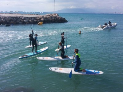 Cool Hot Kiteboard Paddle Surf