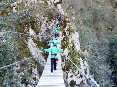 Multi-Adventure Track for Kids in Asturias