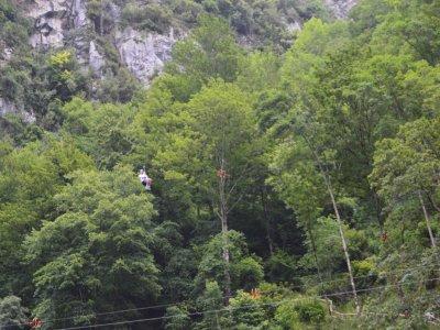 Via ferrata tour on Bayos Gorge