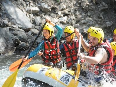 Rafting Llavorsí-Collegats, 40 km + Lunch
