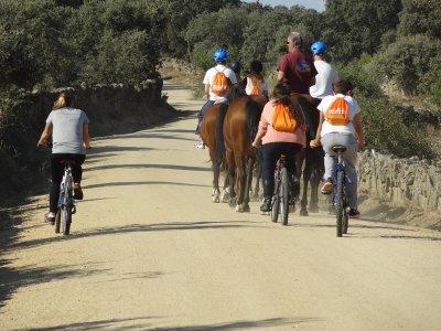 Horse ride Tietar + accommodation