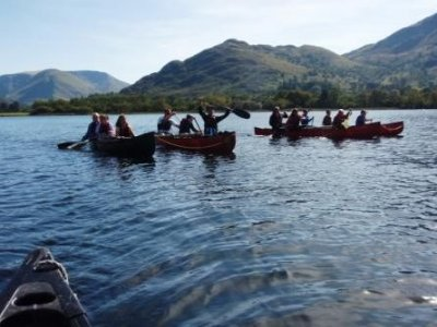 High Borrans Outdoor Education Centre Canoeing