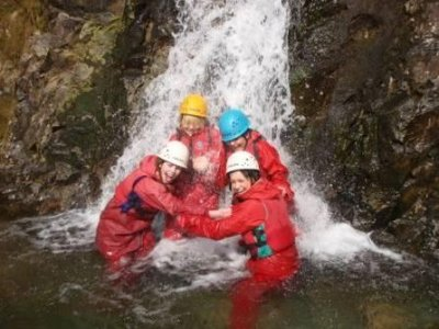 High Borrans Outdoor Education Centre Canyoning