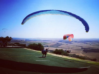 Paragliding en Algodonales, Video included