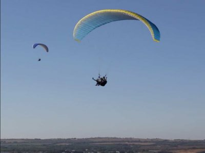 Paragliding in Cádiz + Video. Group ticket