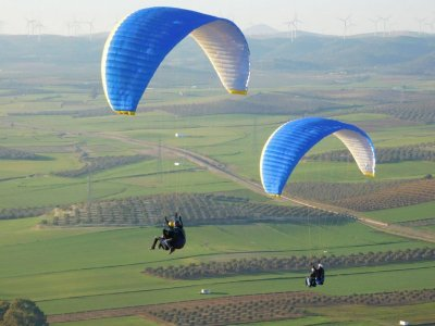 Paragliding in Algodonales, Group ticket.