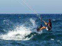 Course at kitesurf