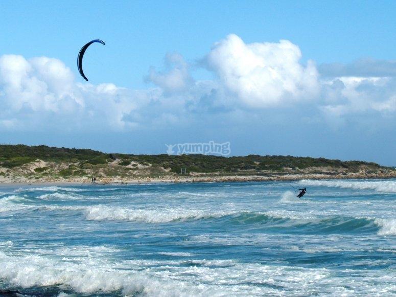 Kitesboard lessons