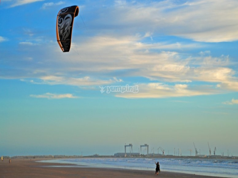 Learn kitesurf