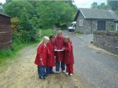 High Borrans Outdoor Education Centre Orienteering