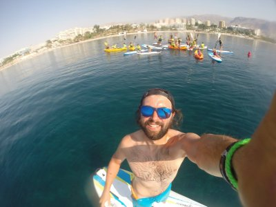 Paddle surfing in Roquetas de Mar 2 hours
