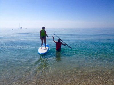 basic course to paddle surf almeria