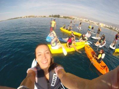 Double-seater canoe rental 1 h, Playa Serena