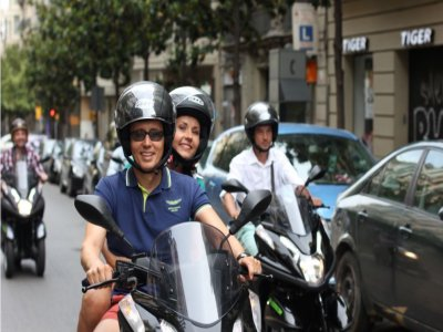 1-day Renting a scooter in Barcelona