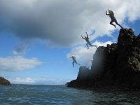 Running leap