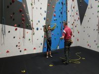 Indoor Climbing with 365 Mountain Adventures