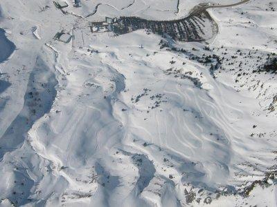 15min Two-seater Snowmobile Tour in Cerler
