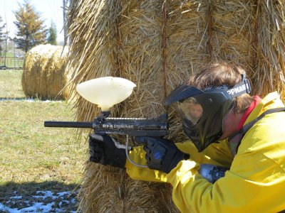 Paintball 14-18 years old in Huesca 100 balls