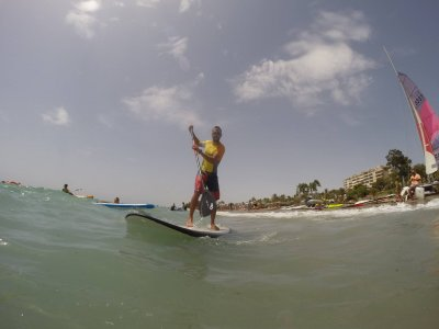 Paddle Surf course for couples Almería