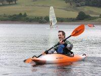 Kayaking at Wimbleball Lake