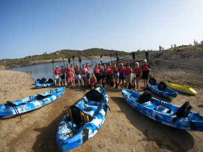 Stag/hen party w. Kayak in Sevilla, 6 people