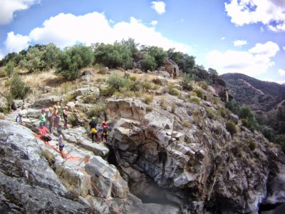 Canyoning for business events in Sevilla