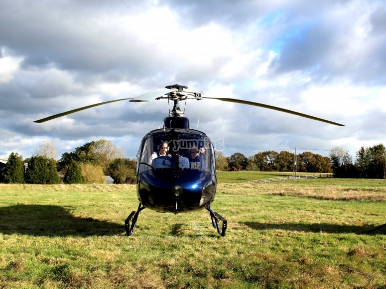 Our spectacular helicopter