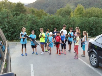Birthday party in Cabuérniga with laser tag + snack