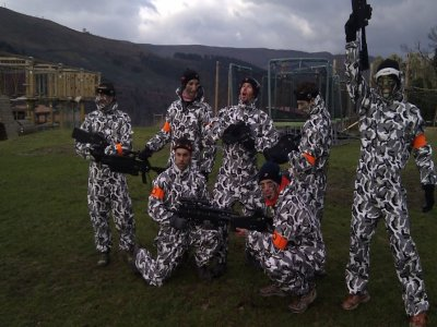 Stag/Hen Do with Laser Tag in Cabuérniga
