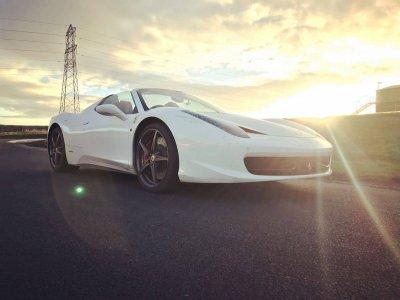 Everyman Racing at Prodrive Drive a Ferrari