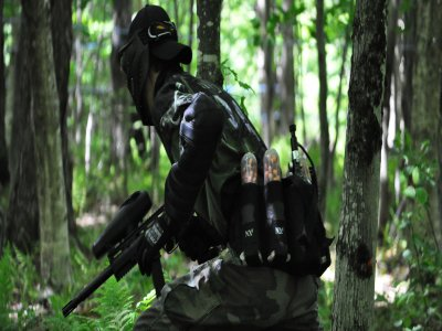 Paintball for stag and hen parties at Cabuérniga
