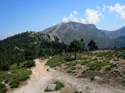 Hiking on the Sierra of Guadarrama, children free