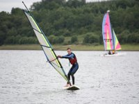 Windsurfer taking on our lake