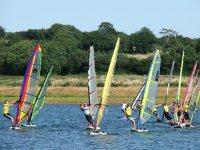 Windsurfing group