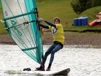 Windsurfing on our lake
