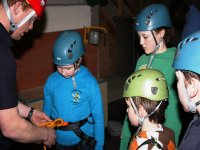 climbing instruction for kiddies