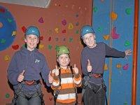Thumbs up climbing