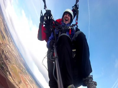 High Paraglide Flight Sierra de Madrid + Video