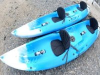 Our double-seated kayaks