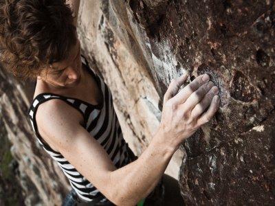 Sport climbing training in Ciudad Rodrigo
